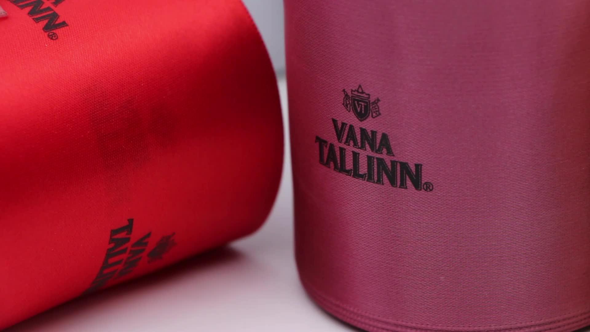 Personnalisé deux couleurs impression ruban satin imprimante pour l'impression sur le ruban de satin