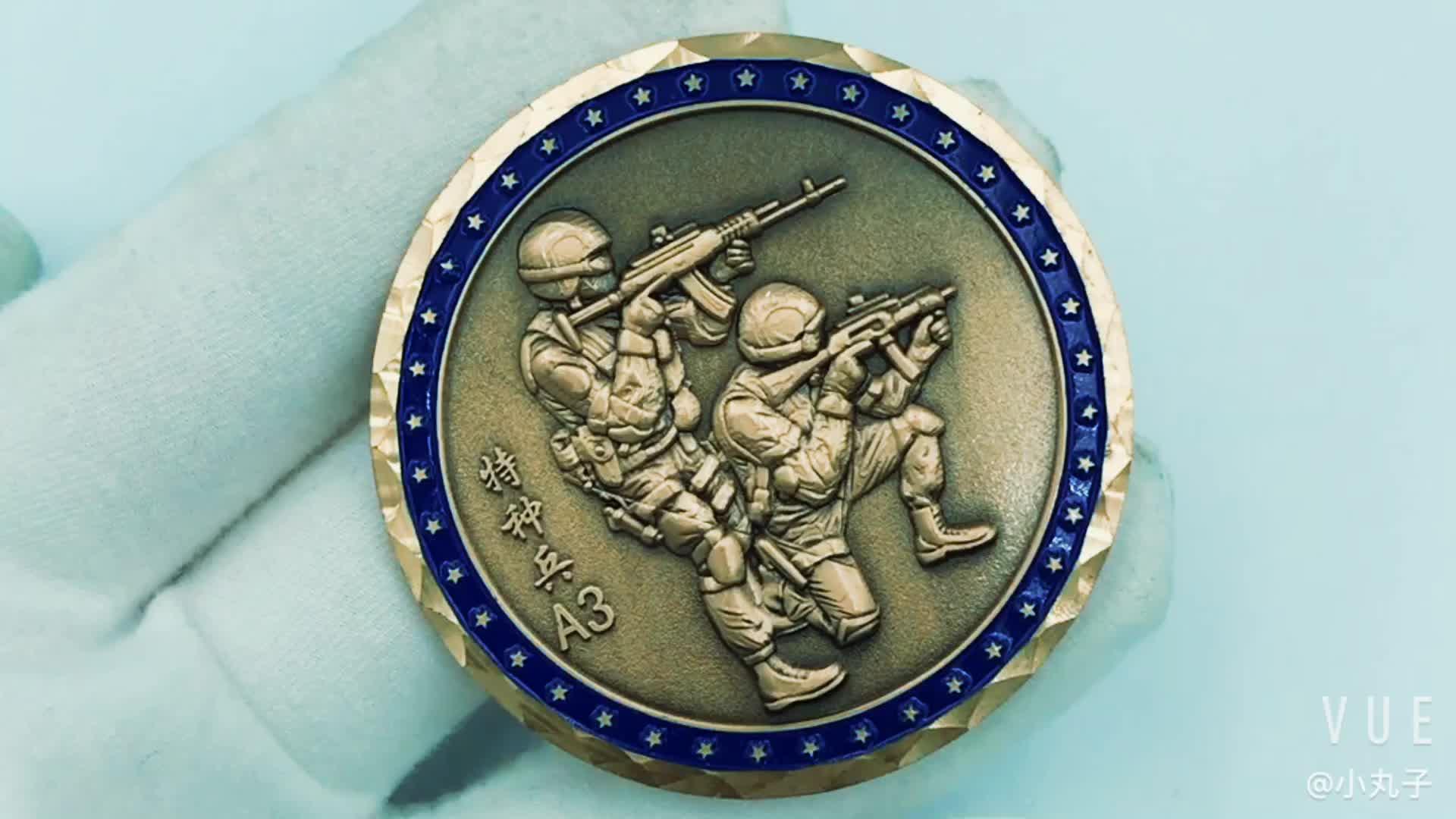 맞춤 양면 이미지 동전 아연 합금 기념품 동전 선물