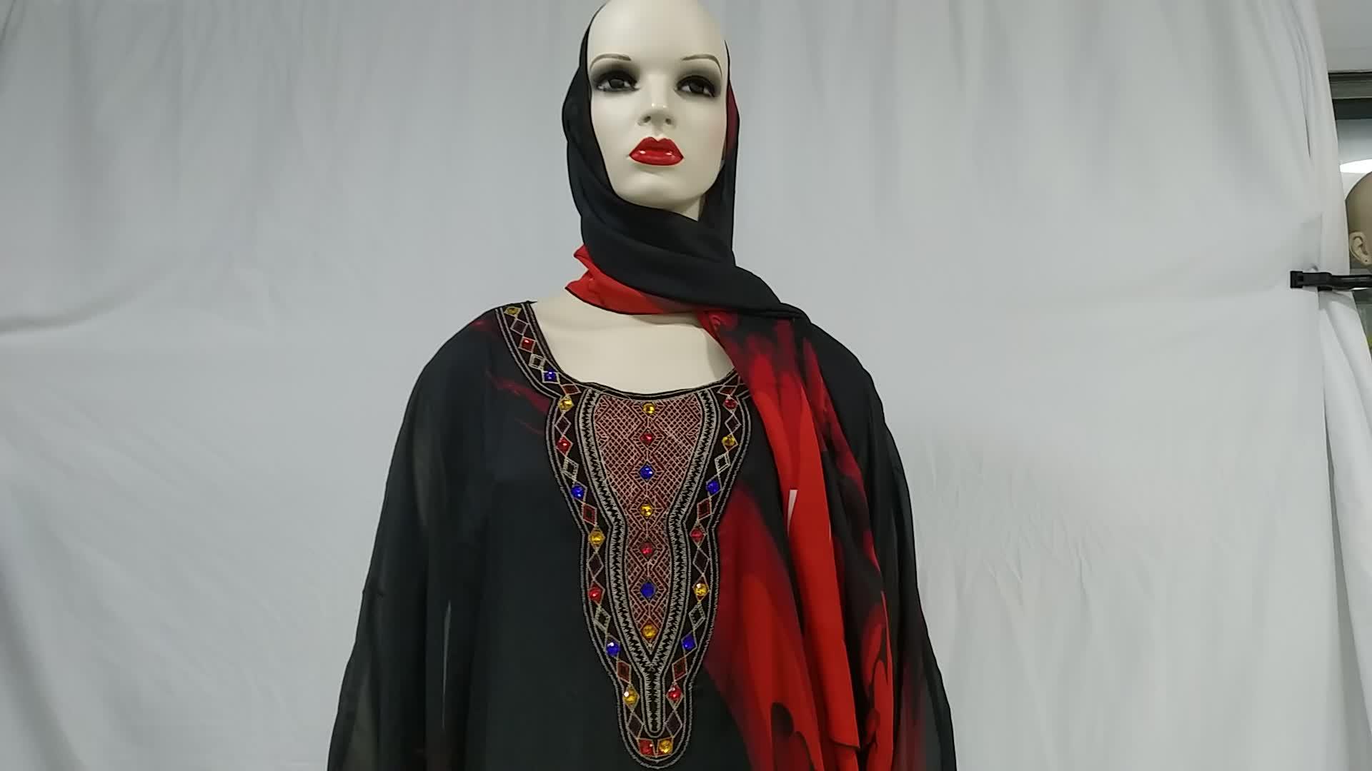 Abito musulmano A Buon Mercato di Abbigliamento In Tessuto Marocco
