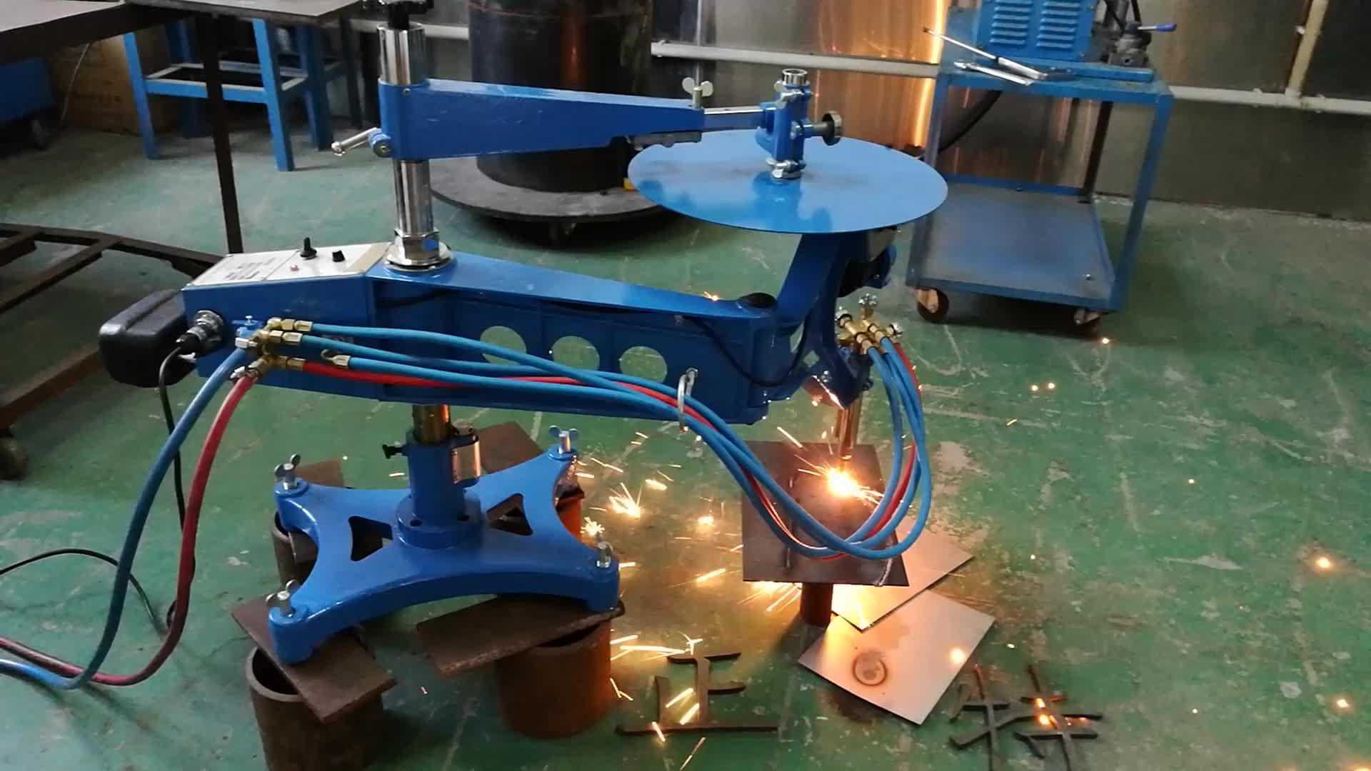 Portatile forma profiling gas fiamma ossi-combustibile macchina di taglio