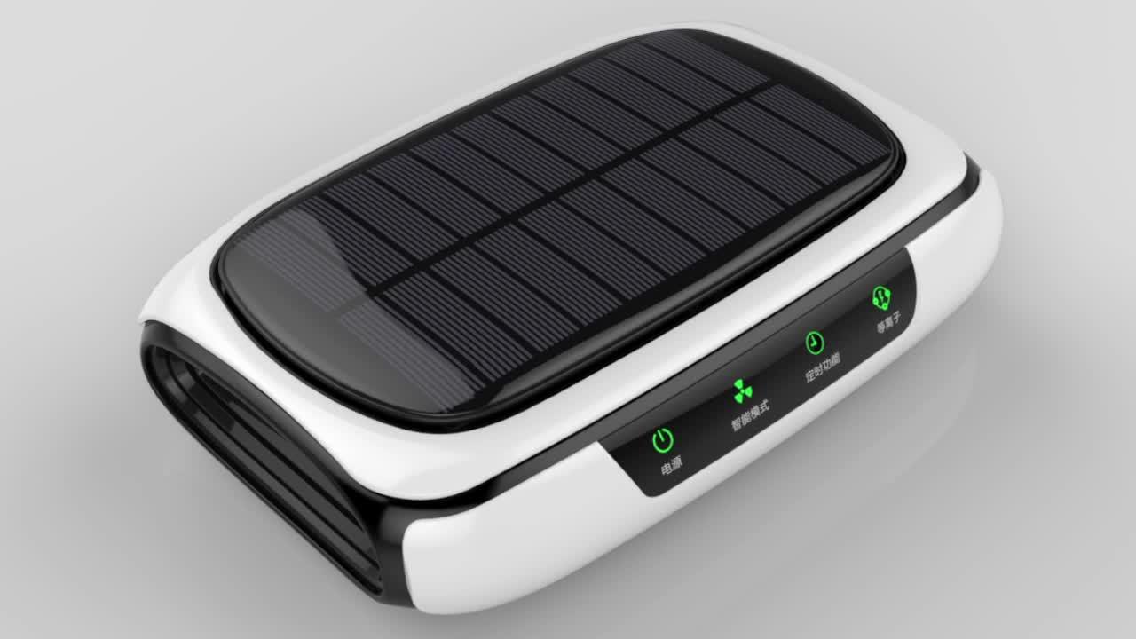 New Invention Air Freshener Car Vent Negative Ion Car Air Cleaner Air Purifiers