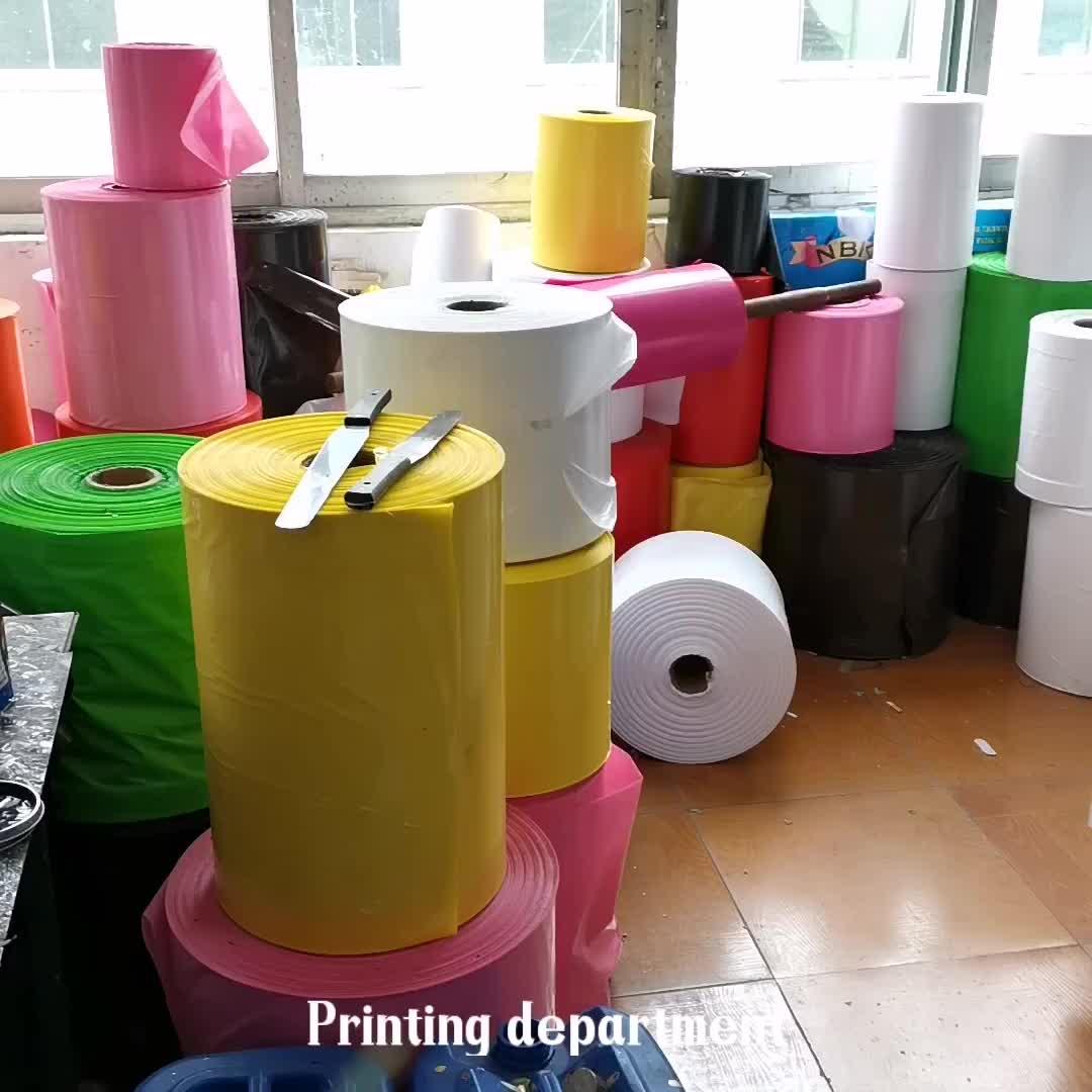 Kundenspezifisches Drucklogo-Plastiktasche MOQ 500Pcs weiß / schwarz alle Farbengeschenk-PE-Beutelgroßverkauf