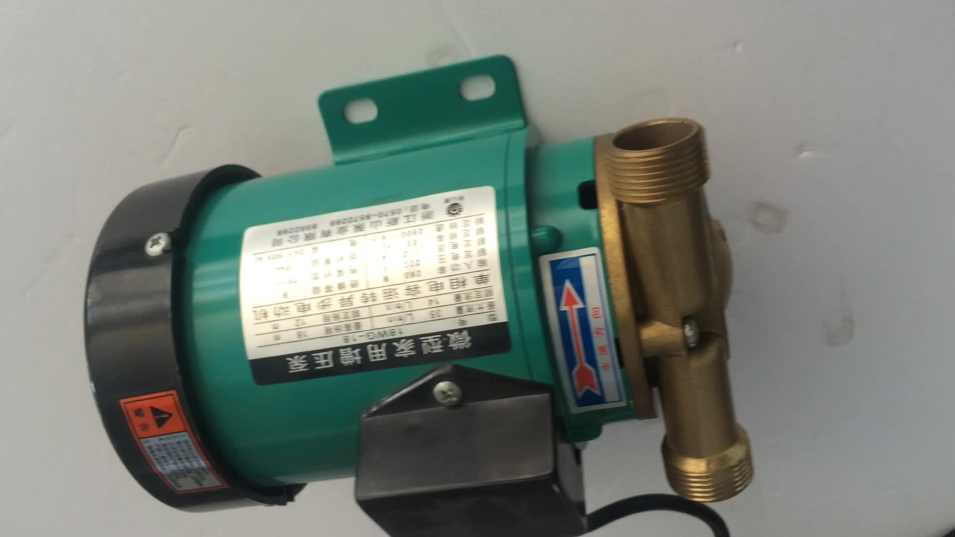 Sisan 18wg-18 Best-selling Micro Low Pressure Water Transfer Ro Booster 12v Air Pump