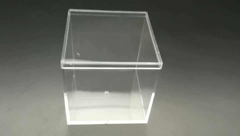 ช็อคโกแลตขนมบรรจุภัณฑ์กล่อง,ล้างพลาสติกขนาดเล็กคริลิคกล่องของขวัญที่มีฝาปิดขายส่ง,หวานพลาสติกจัดงานแต่งงานโปรดปรานขนมกล่อง