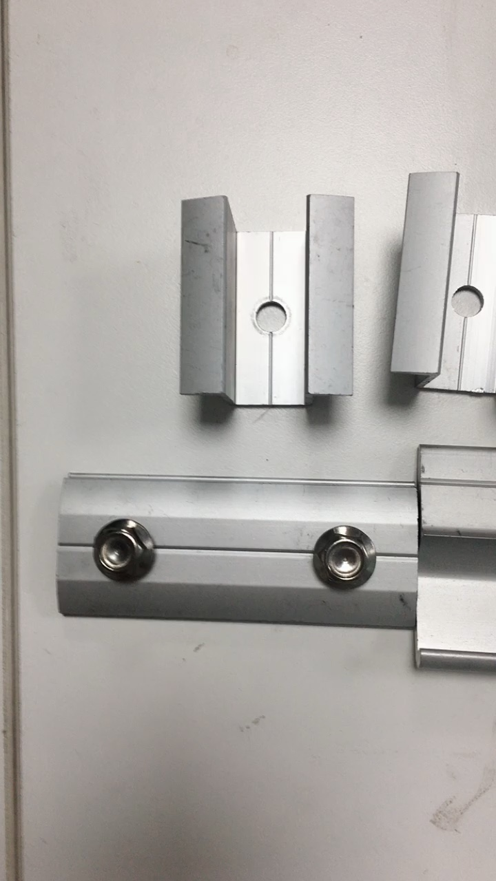 Norme internationale En aluminium Z clip z profil d'extrusion d'aluminium