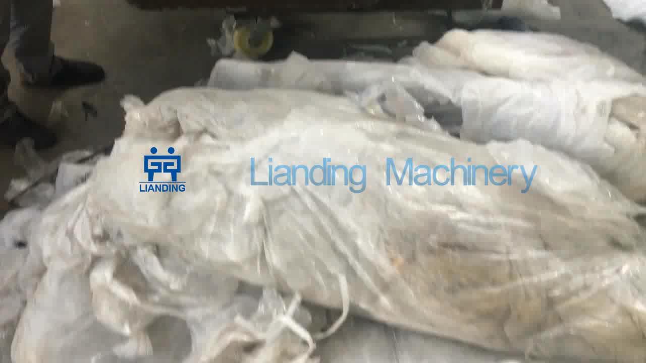 Doppio Stadio PE PP di Plastica Granulazione granulazione Macchina/riciclare granuli di plastica che fa la macchina prezzo