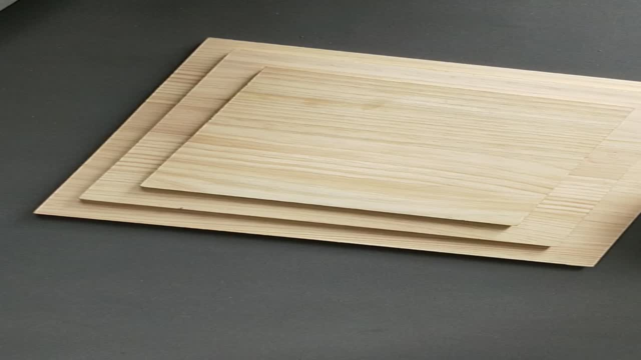China Manufacturer Solid Wood Board Raw Pine Board Making for Home Furniture