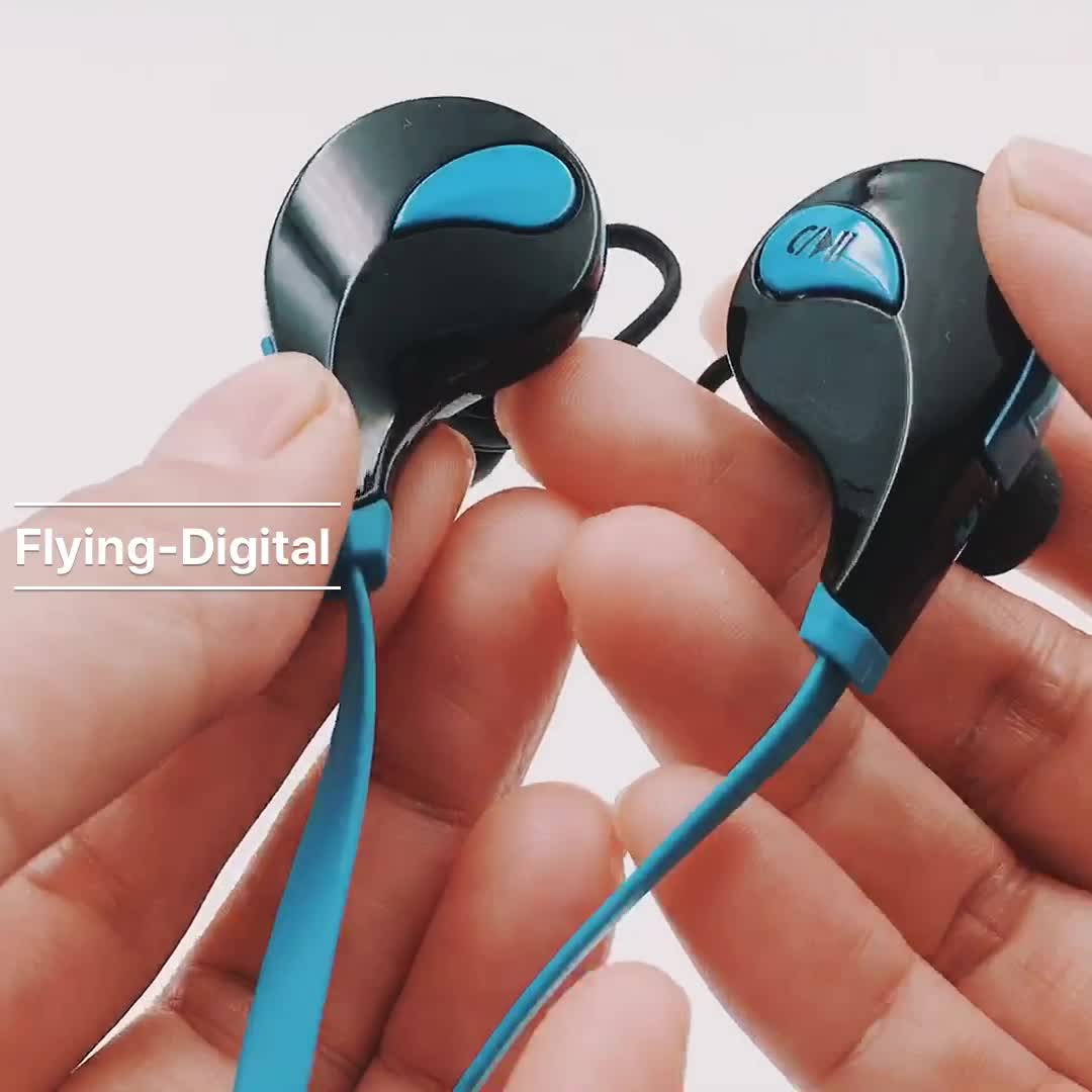QY7 Best Quality Factory With Handfree BT Headset Sport Earphone