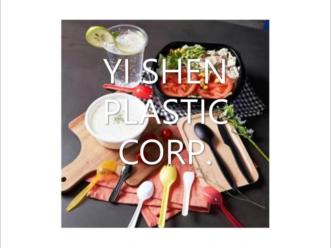 Clear view packaging plastic disposable bento box