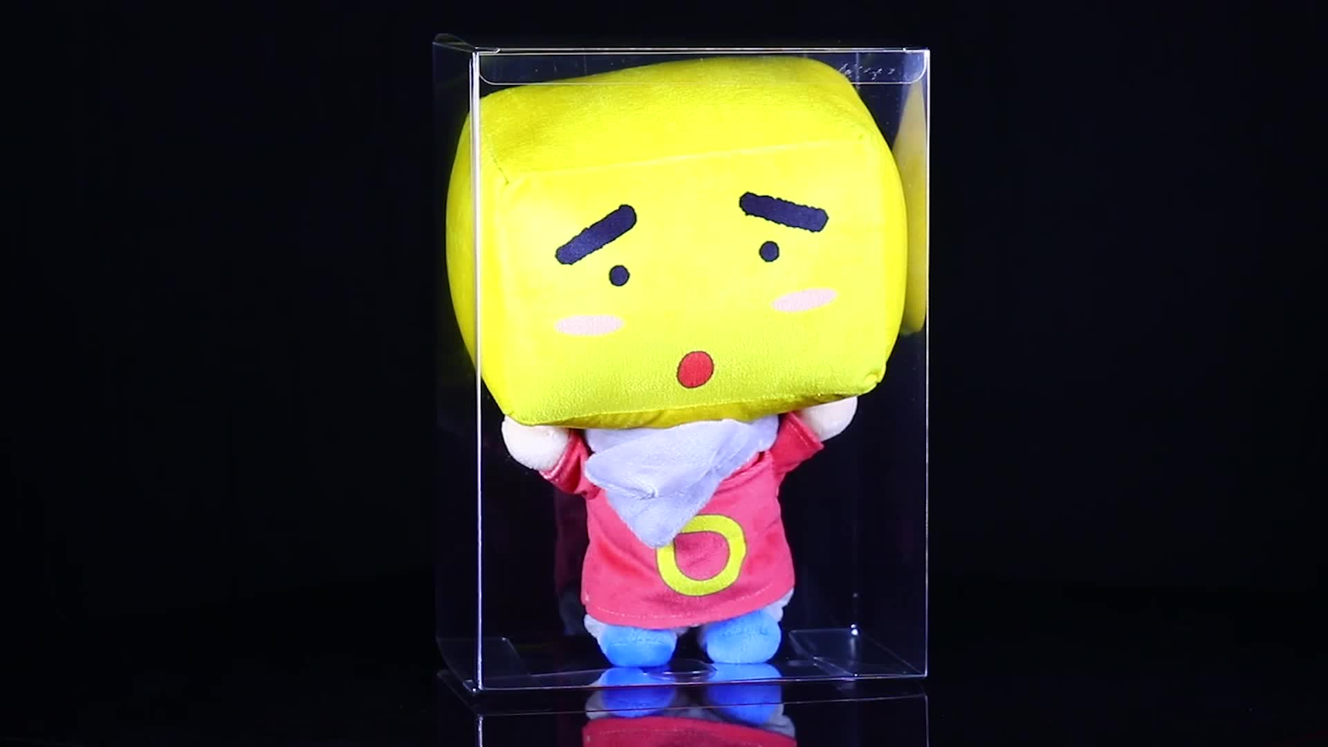 A05 Clear Plastic Transparent Doll Packaging Box Wholesale