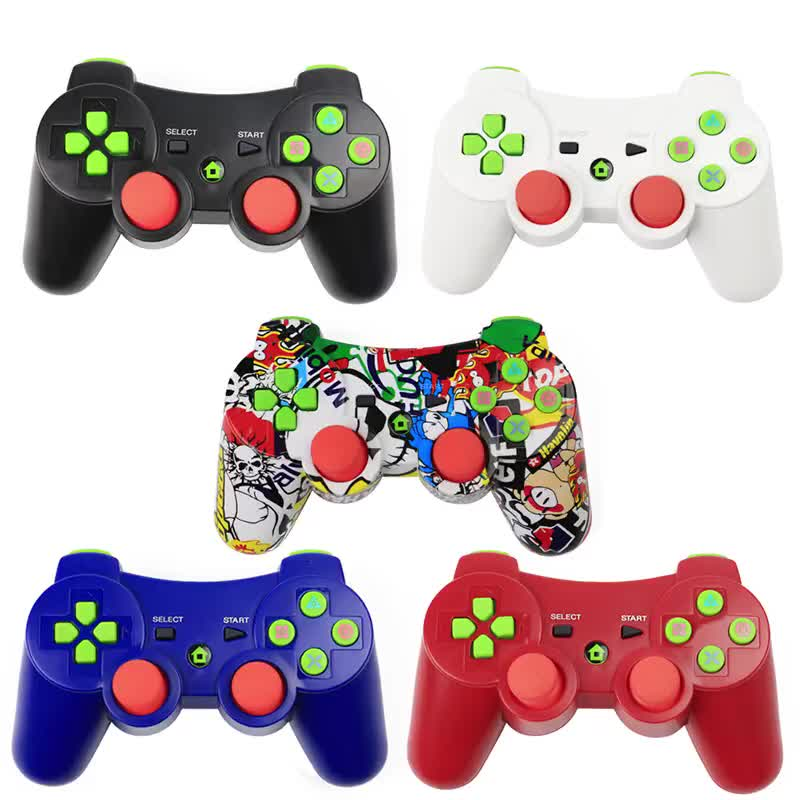 2019 amazon hot selling Gamepad Wireless BT Joystick For PS3 Controller Wireless Console For Sony Playstation 3 Game Pad
