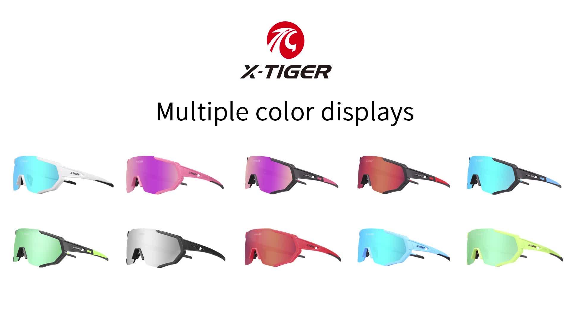 Bisiklet Gözlüğü Erkekler Polarize Kadınlar Açık Spor 3 Lens Bisiklet güneş gözlüğü