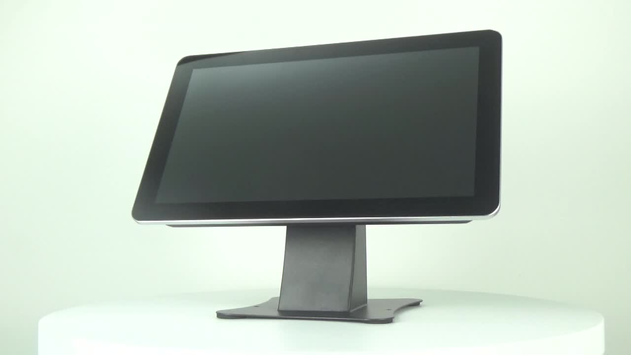 High quality 8 Inch square Capacitive touch screen open frame lcd monitor with Vga Usb