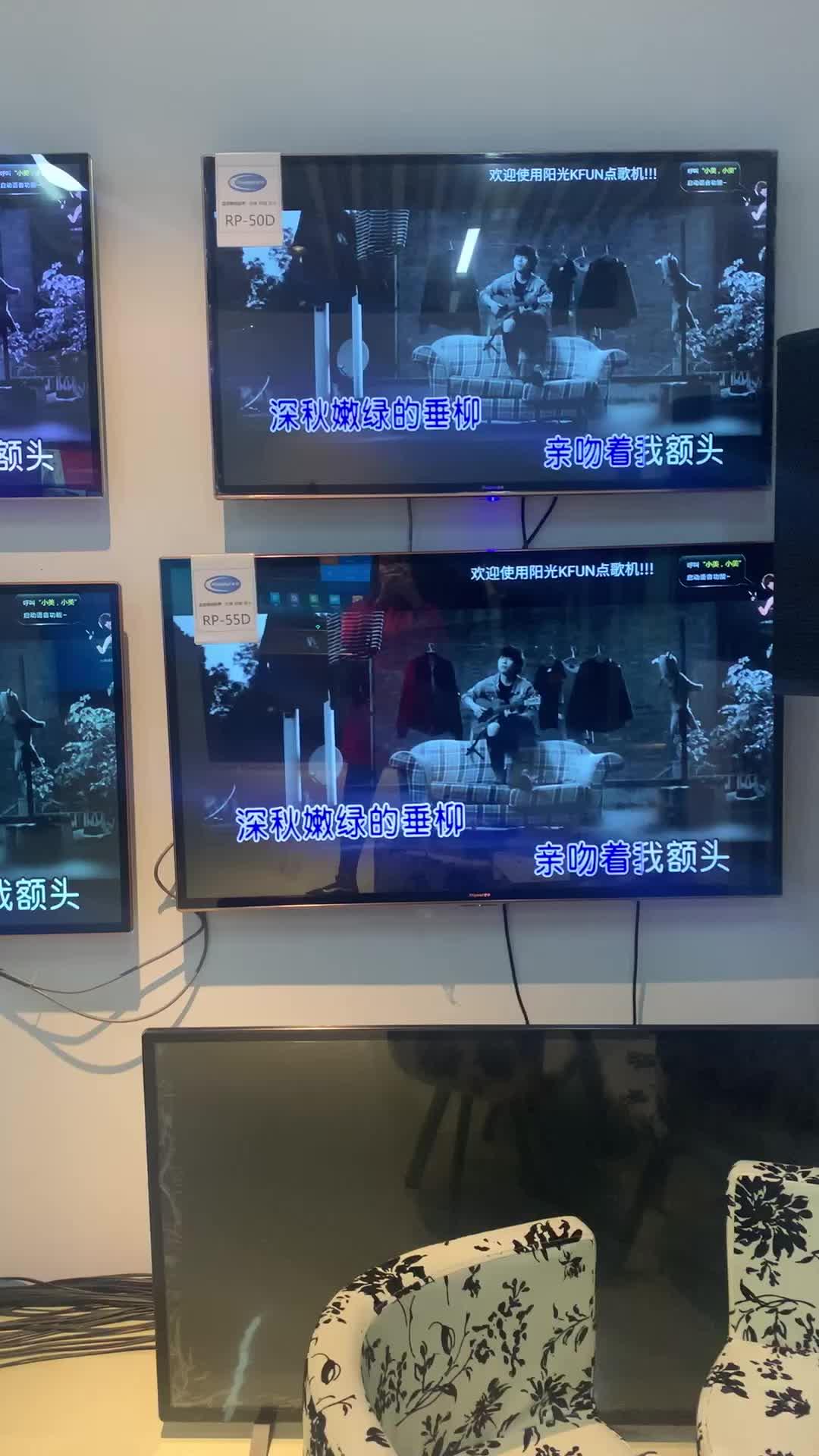 2019 Groothandel Big Size Flat Screen Tv 43 50 55 Inch Smart Televisie Sets