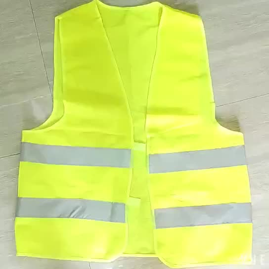 Yellow hi viz high visibility police safety products reflective safety vest for sale