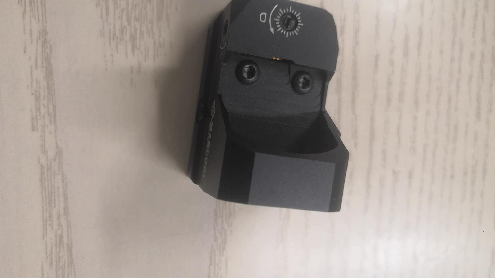 Airsoft कार्बाइन शूटिंग ऑप्टिक सामरिक लाल डॉट बंदूक जगहें निशान कैमरा