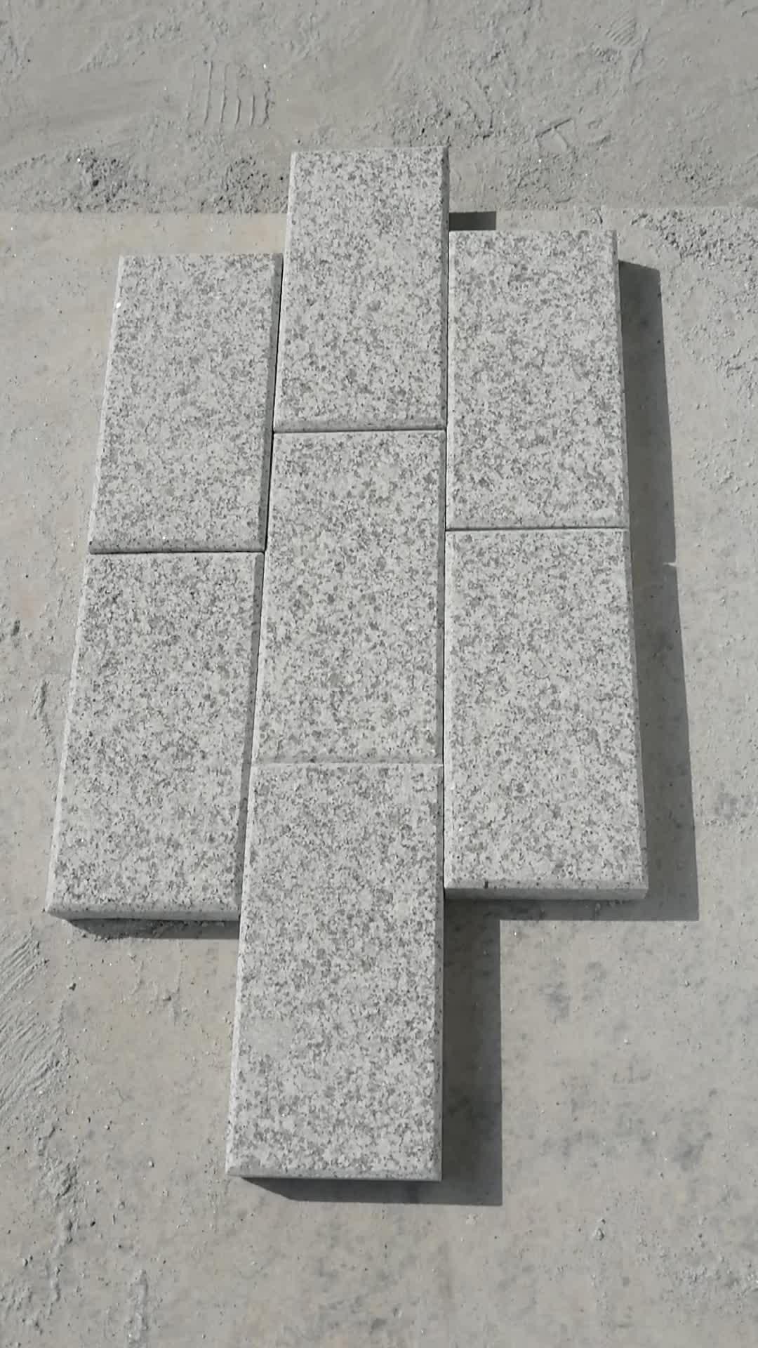 60 by 30cm G603 Grey granite pool coping tile