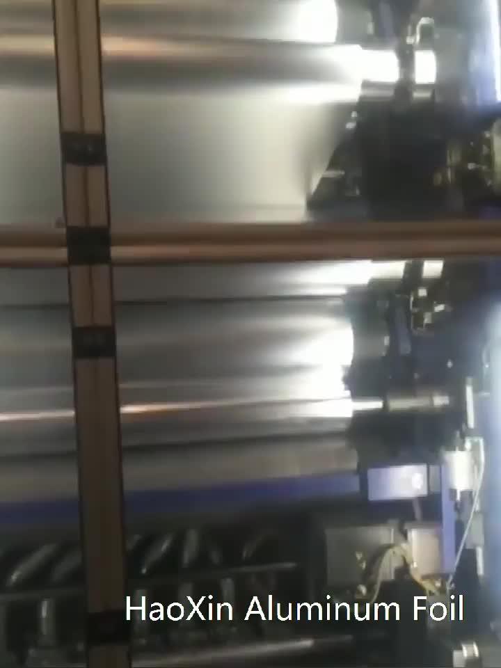 Molen Afwerking Vlakte 8011 Aluminiumfolie Jumbobroodje