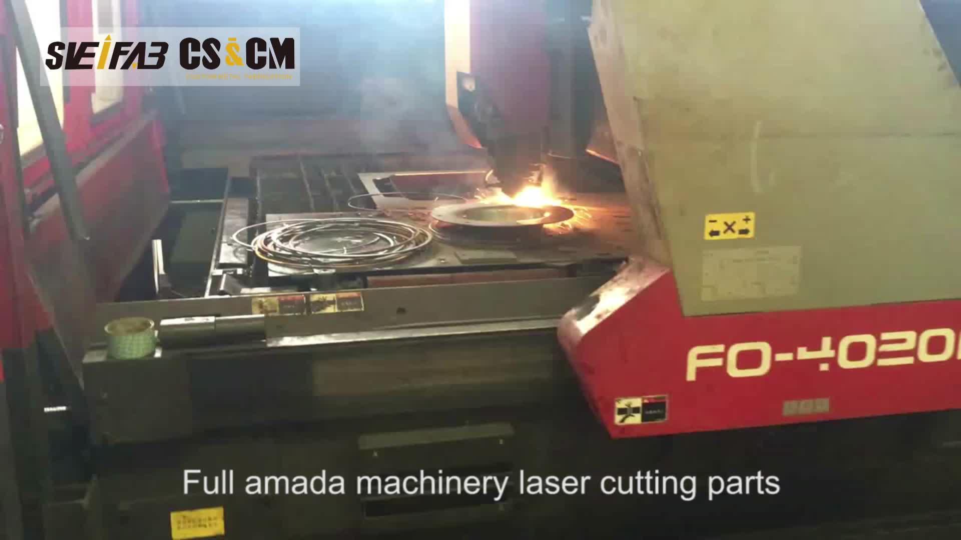 OEM factory sheet metal u shaped brackets