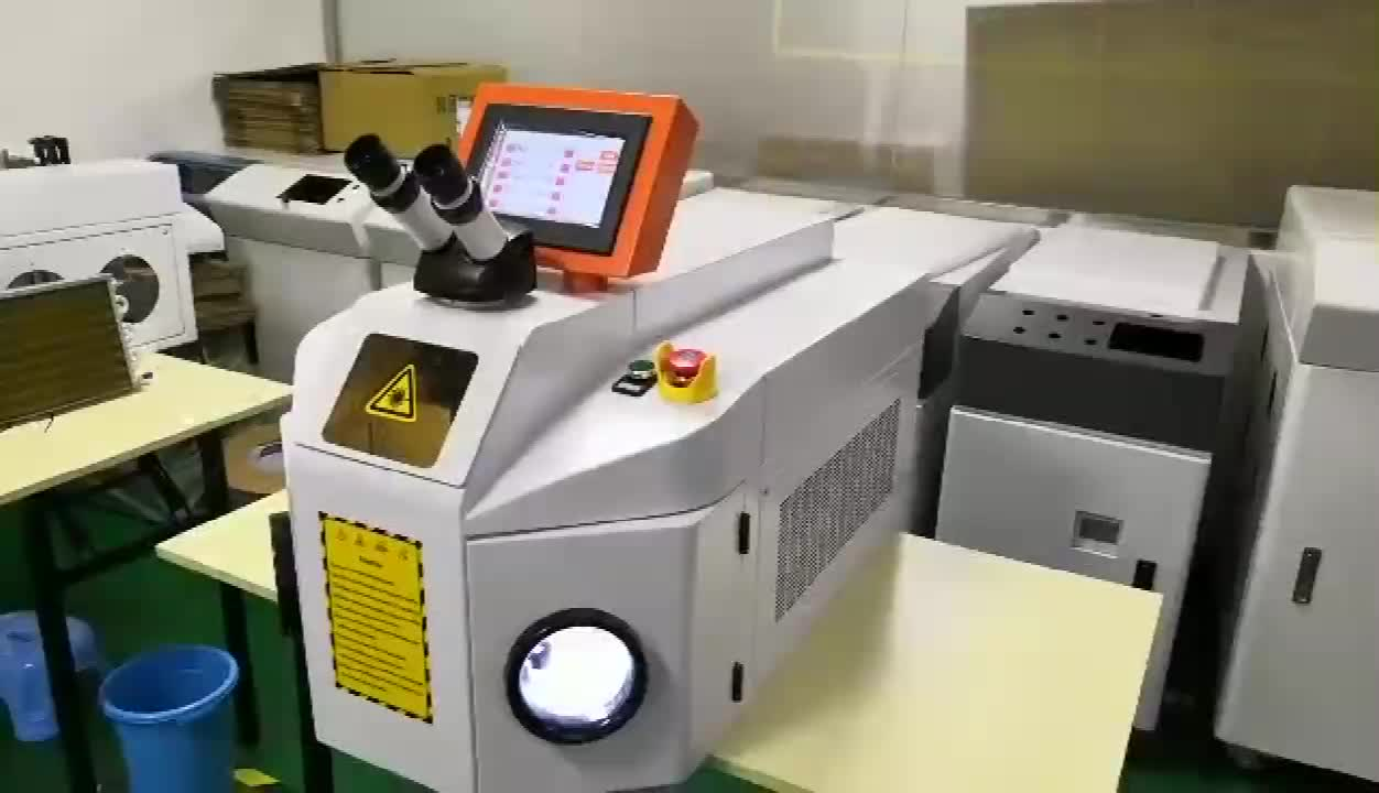Professional gold silver copper Laser soldering system portable jewelry laser welding machine price
