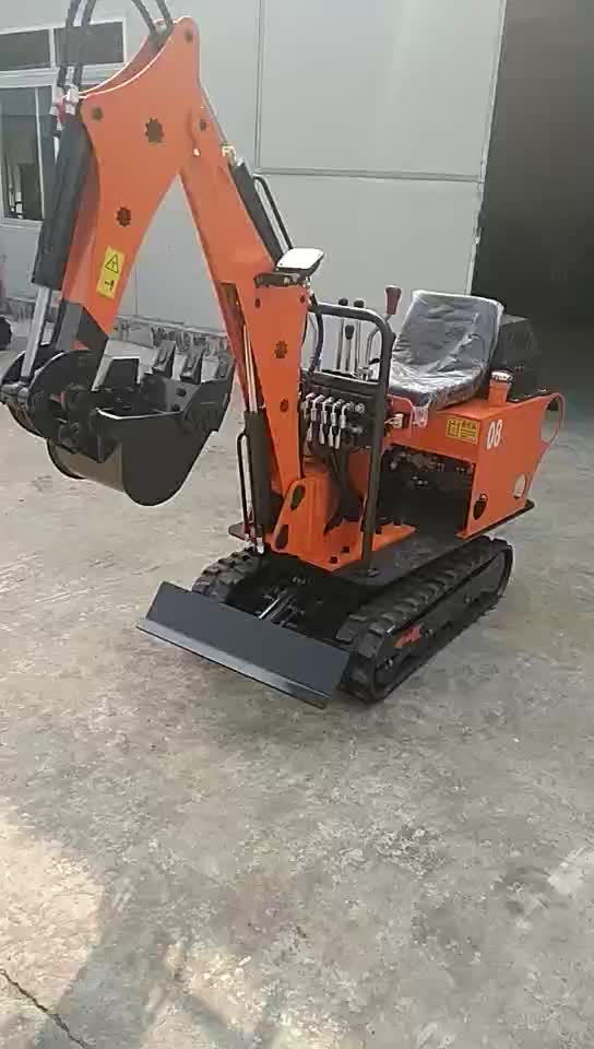 Small mini garden farm orchard durable excavator price from factory supplier