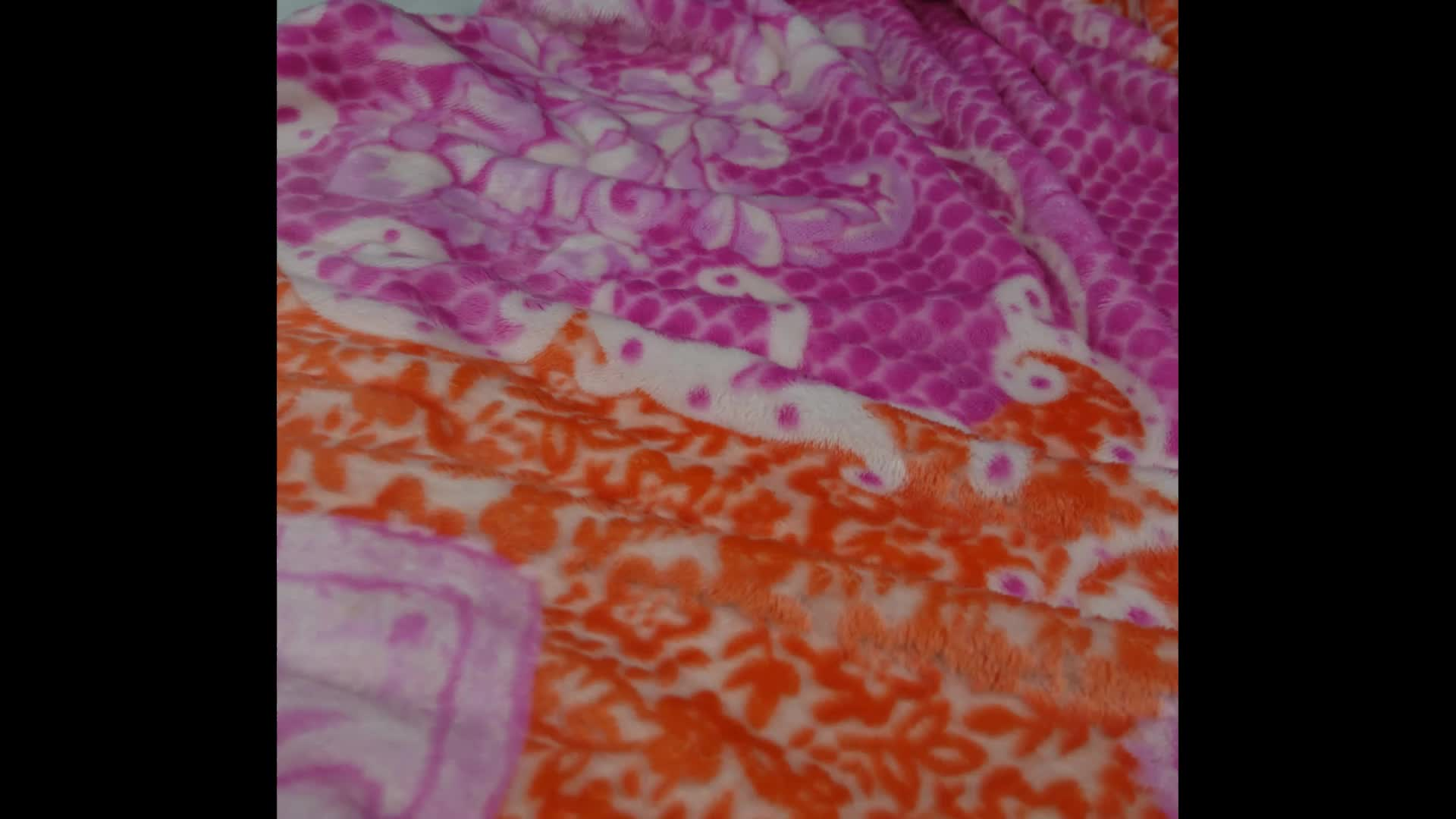 Baby Coral fleece fabric for quilting and blankets