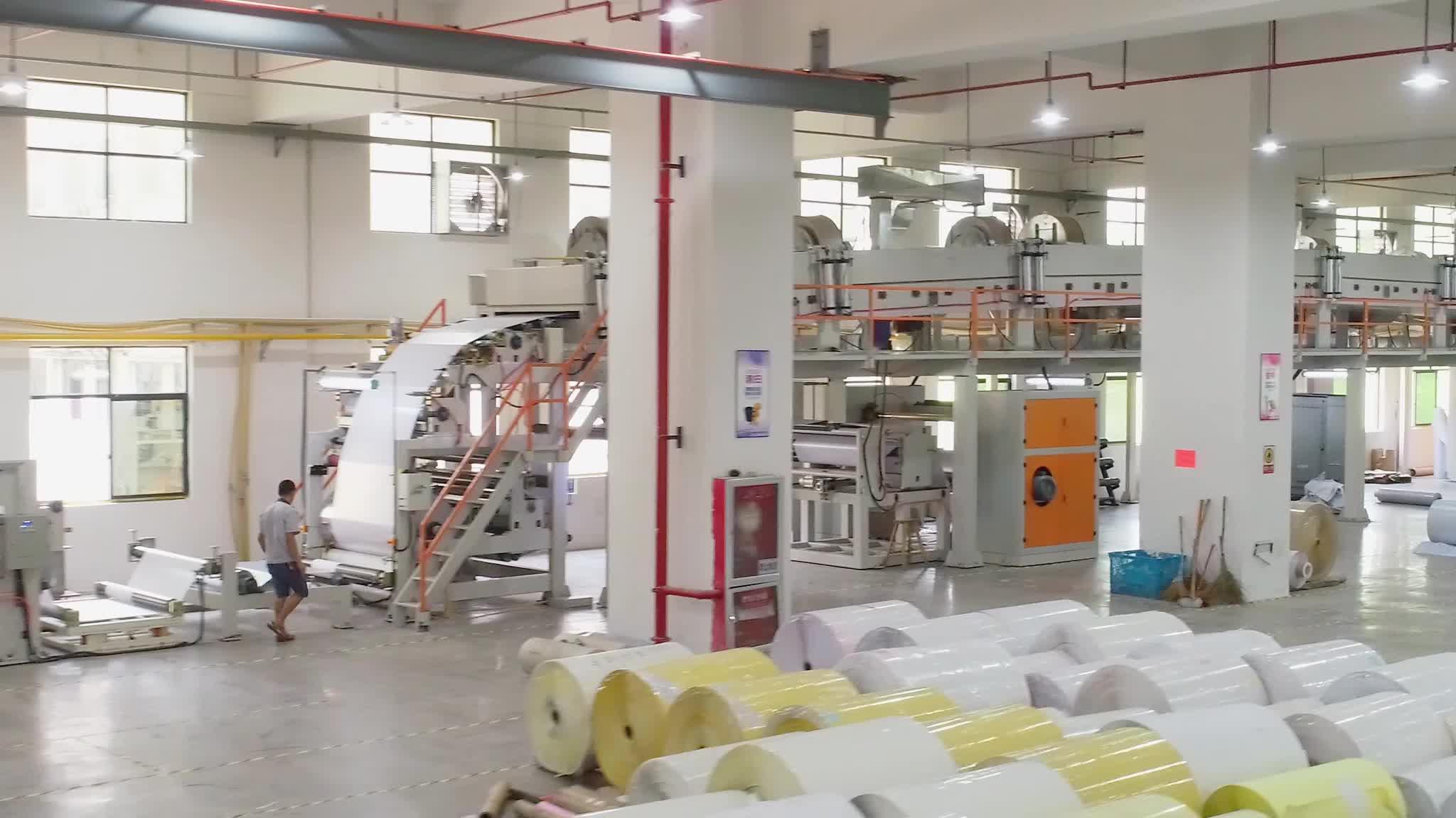 Fabrika toptan 57mm önceden yazdırılmış pos termal yazarkasa kağıt rulosu