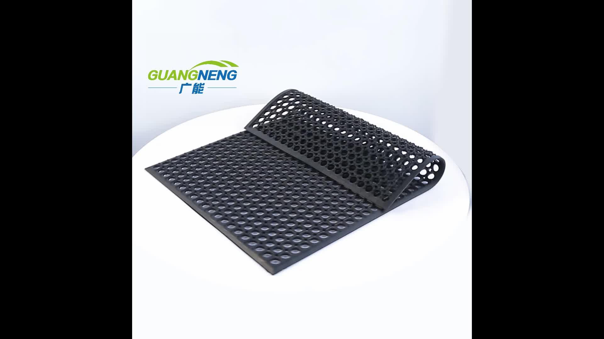 Anti slip acid resistant rubber mat/rubber bath mats