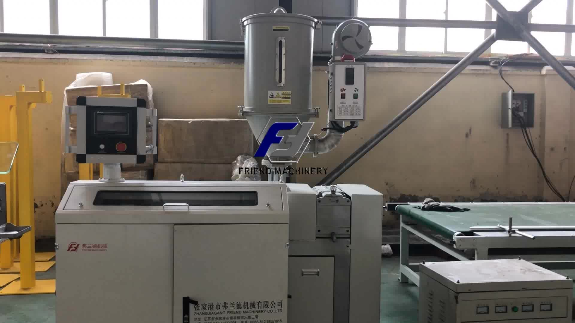 1.75mm PVA PEI PEEK PC PA filament extruder 3D printer filament making machine Vriend Machines