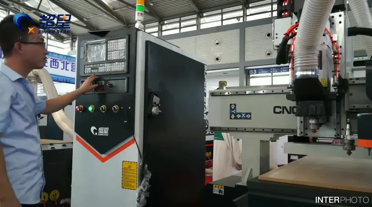 ATC Woodworking cnc router cnc carving machine for wood door cnc wood carving router
