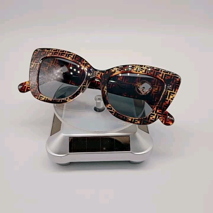 2020 Brand Designer Shades Oversize Fancy Square Rimless Sunglasses Unisex