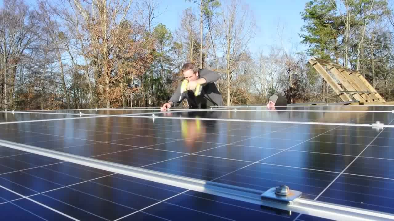 Custom made photovoltaic 5000w complete 5kw on grid solar power system for system