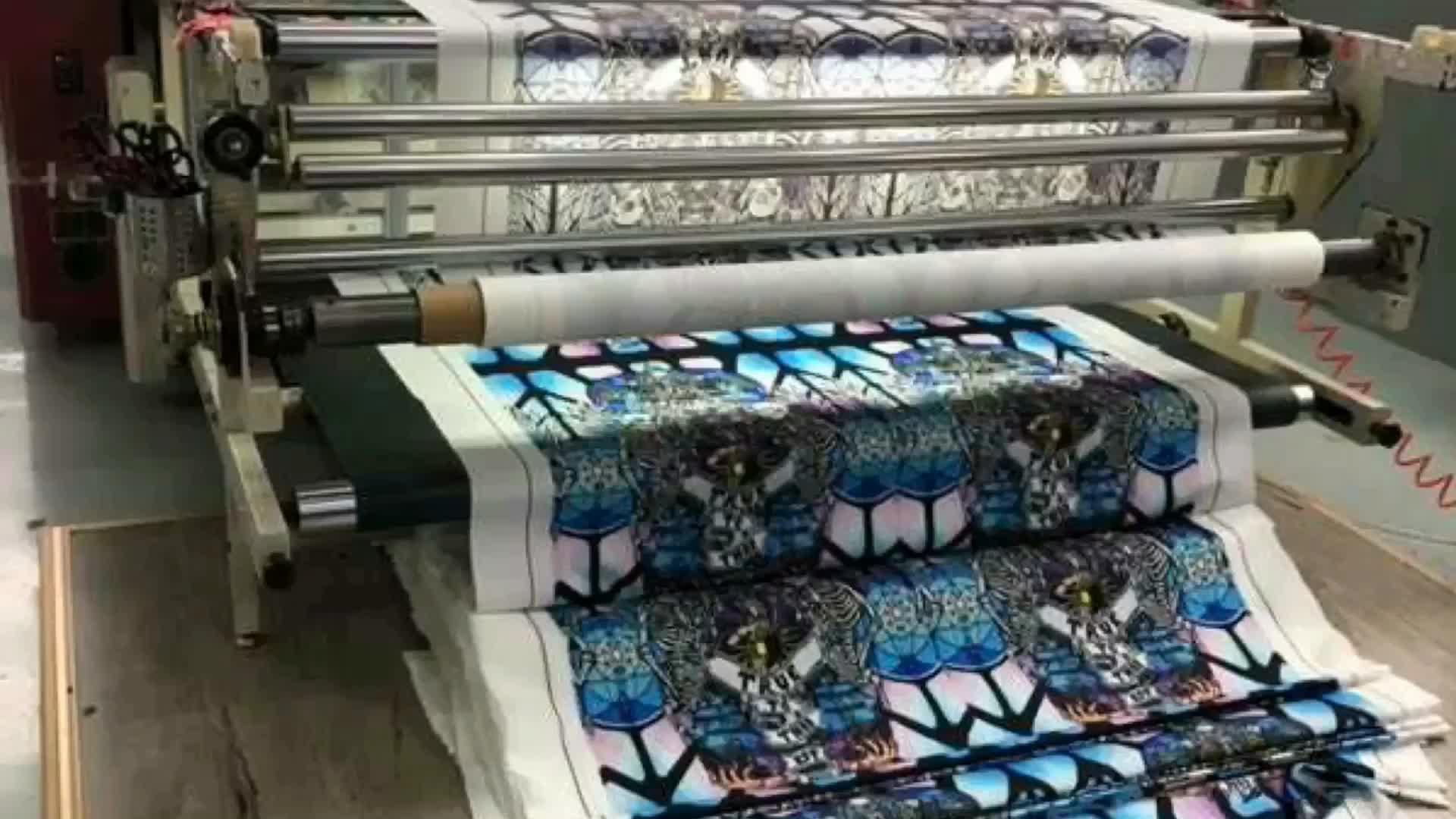 Özel tasarım düz dijital Havaiian baskı 100% viskon baskı kumaş Rayon