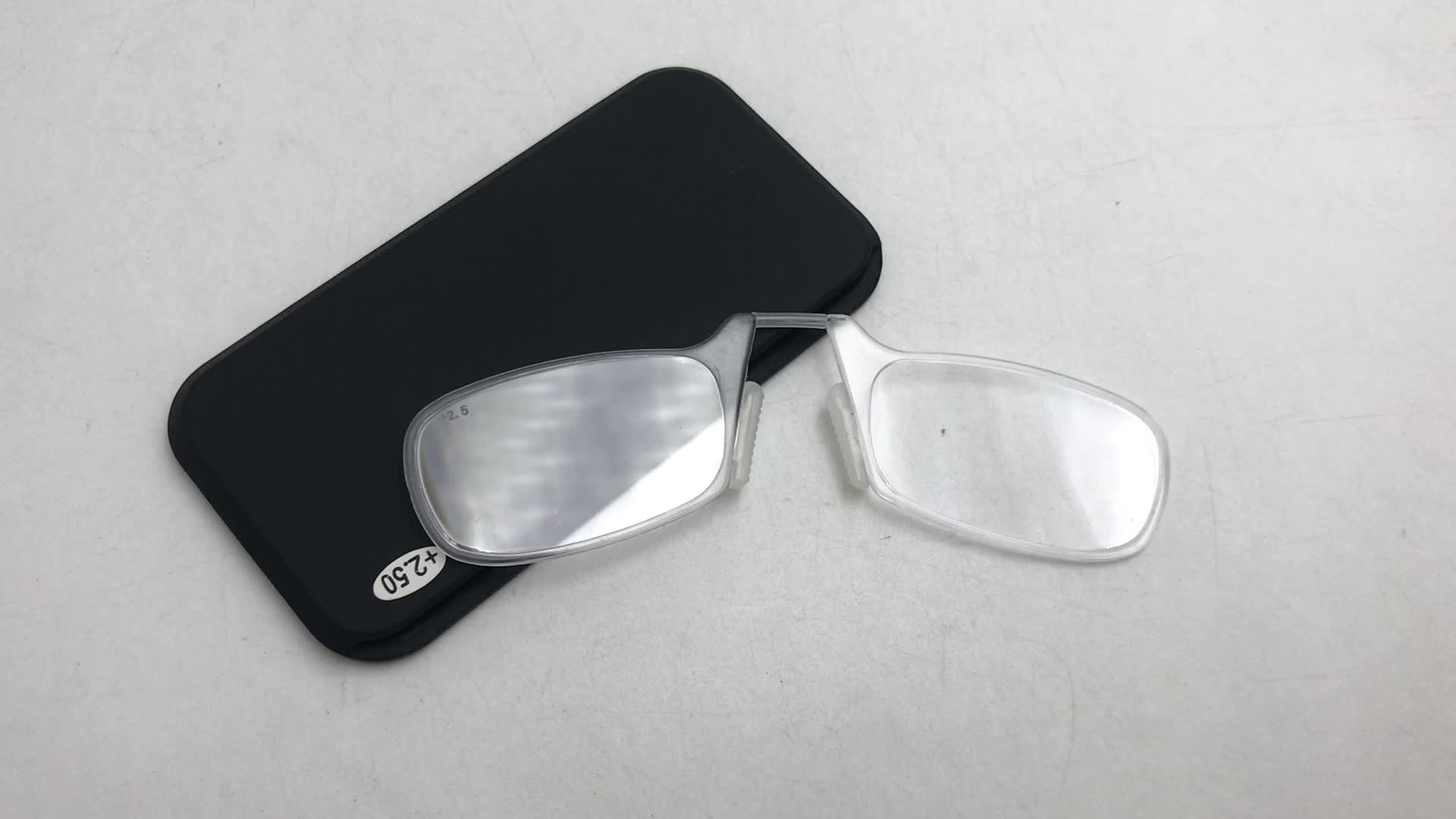 reading glasses pocket and MINI reading glasses