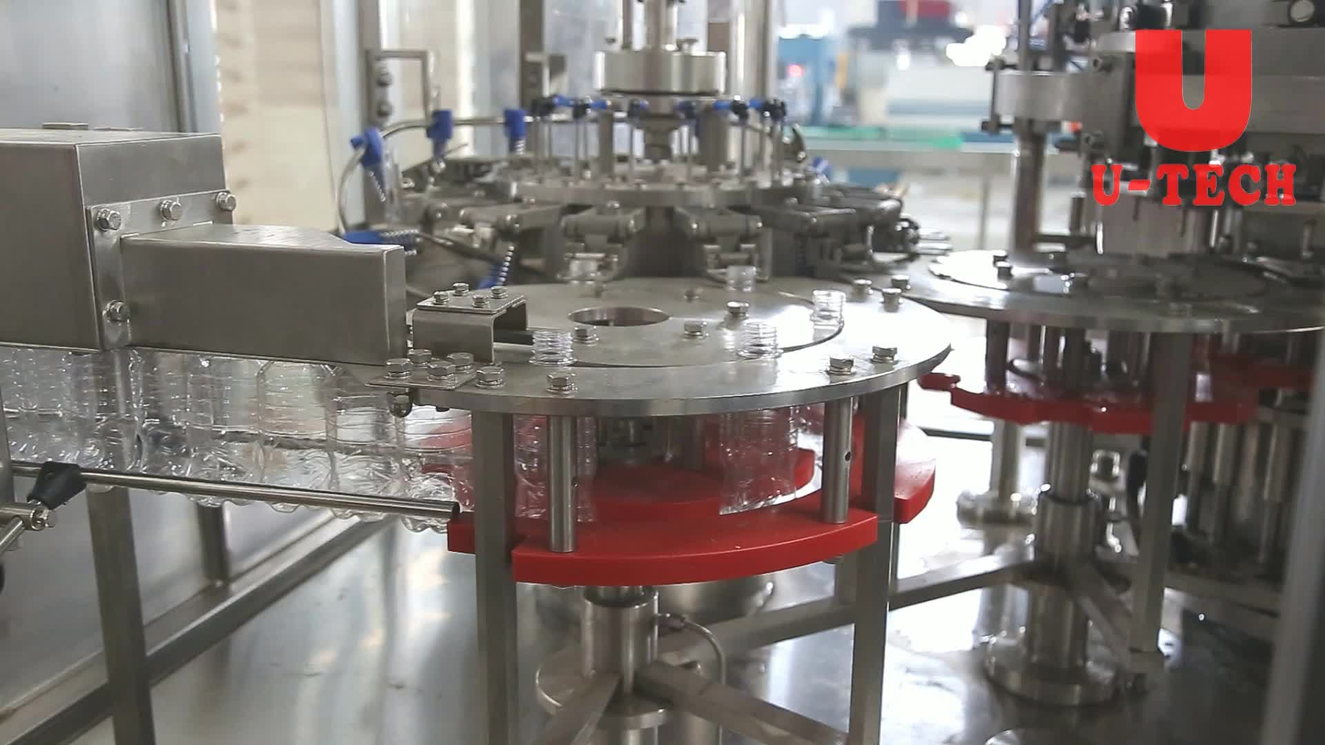 small soda wine filling bottling machine