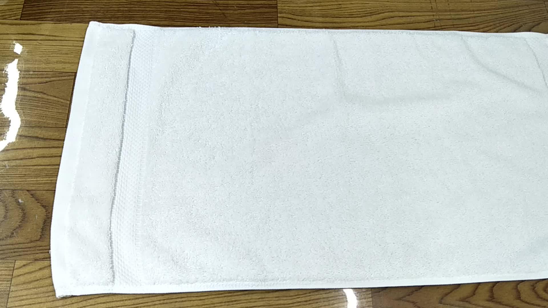 Khách Sạn Khăn Tắm Bộ Khách Sạn Sang Trọng 100% Cotton 3 Mảnh Khăn Tắm Tập