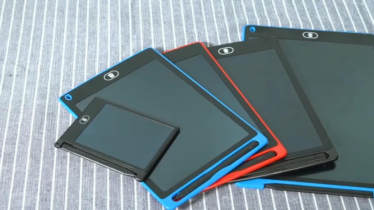 Kolay yüklemek için yüksek çözünürlüklü LCD yazma tableti 10 inç boyama kurulu