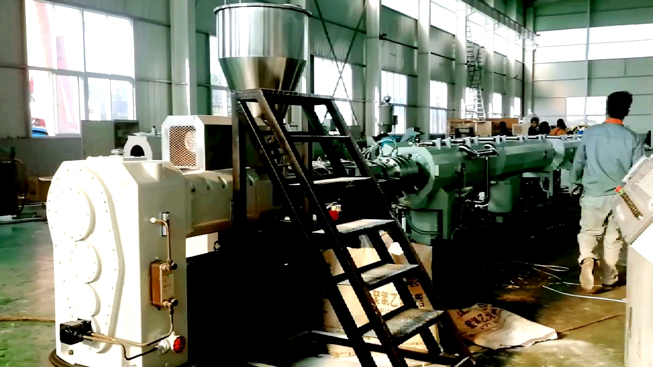 SPECIAL PRICE PVC Pipe extrusion machine UPVC tube production line CPVC pipe making machine with price and machine video