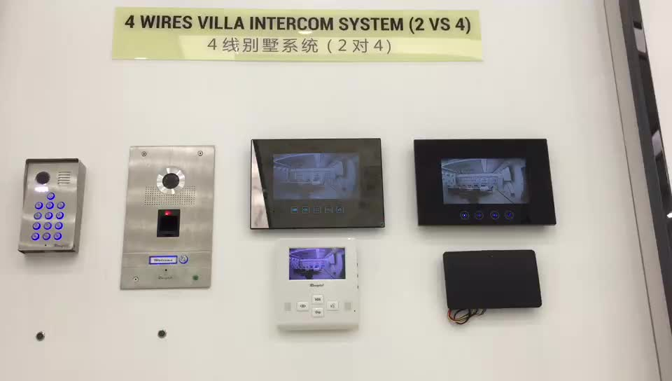 Answer your door everywhere villa video door phone with wifi wireless remote access control box