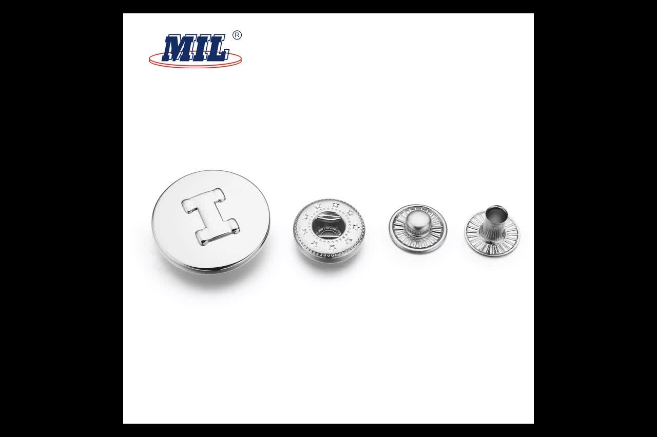 New Design Lead Free Nickel Free Brass Metal Prong Snap Fastener Buttons