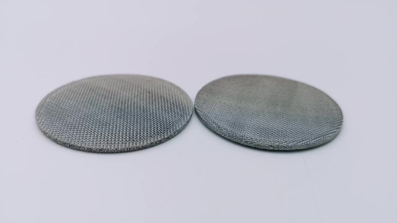 Customized Single double multil layers stainless steel sintered wire mesh
