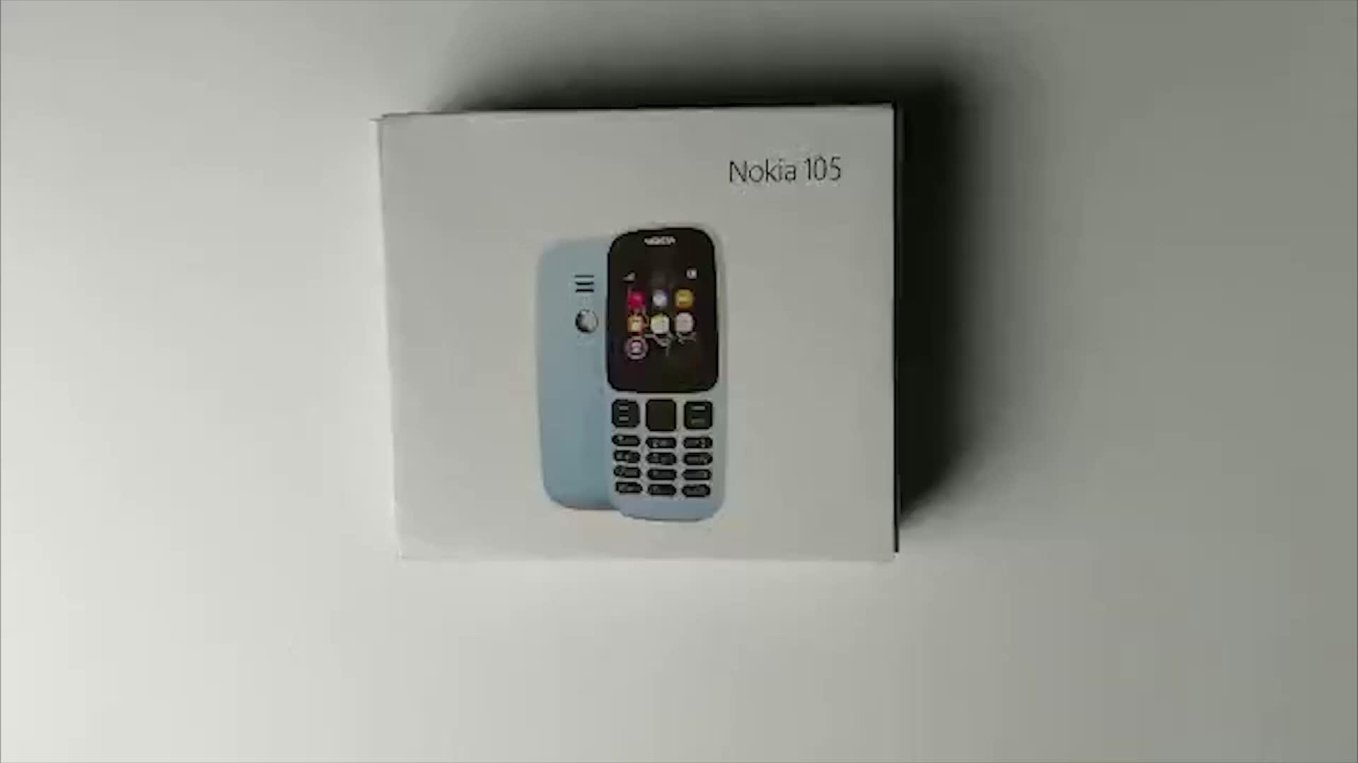 China (Daratan) Pabrik Ponsel OEM untuk 105 2G Dual SIM GSM Mini Keypad Ponsel Disesuaikan Logo Basic 105 Seluler untuk Nokia