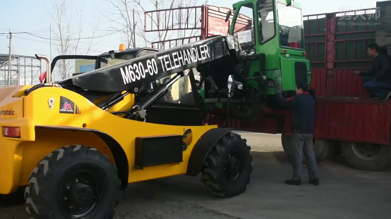 farming agricultural construction machinery equipment 3ton forklift telehandler with skid steer attachments