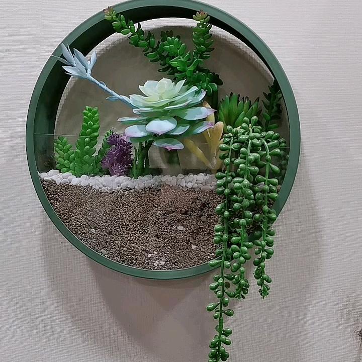 Подвесные металлические кашпо/Настенный декор железа/ведро/корзина цветочные горшки для внутреннего и наружного Brassworld индия