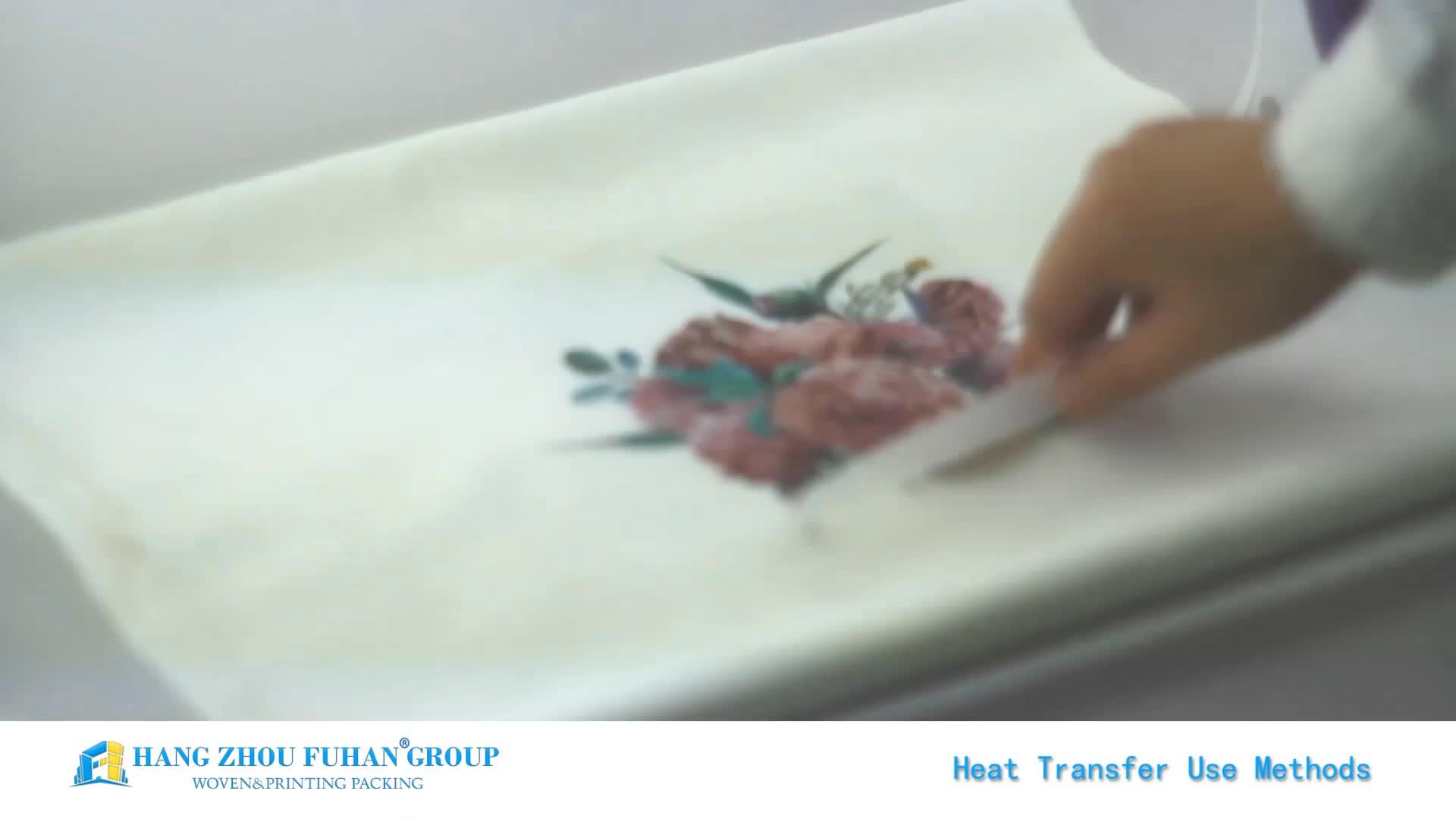 การออกแบบที่กำหนดเองเงินสติกเกอร์การถ่ายเทความร้อนสำหรับเสื้อยืด
