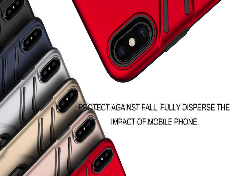 Shockproof metalen stent hybrid mobiele telefoon cover oppo a83, voor oppo a83 kickstand telefoon case