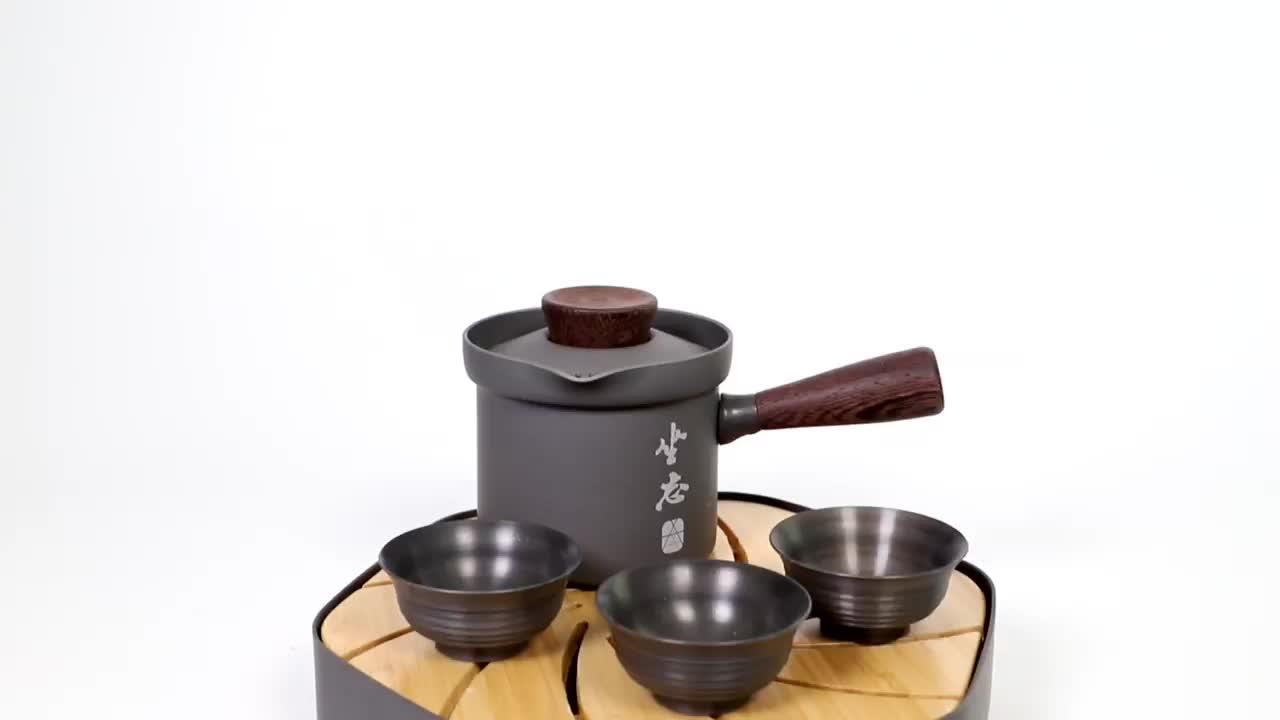 Outdoor camping wandern picknick Neue design chinesische kleine tee tasse