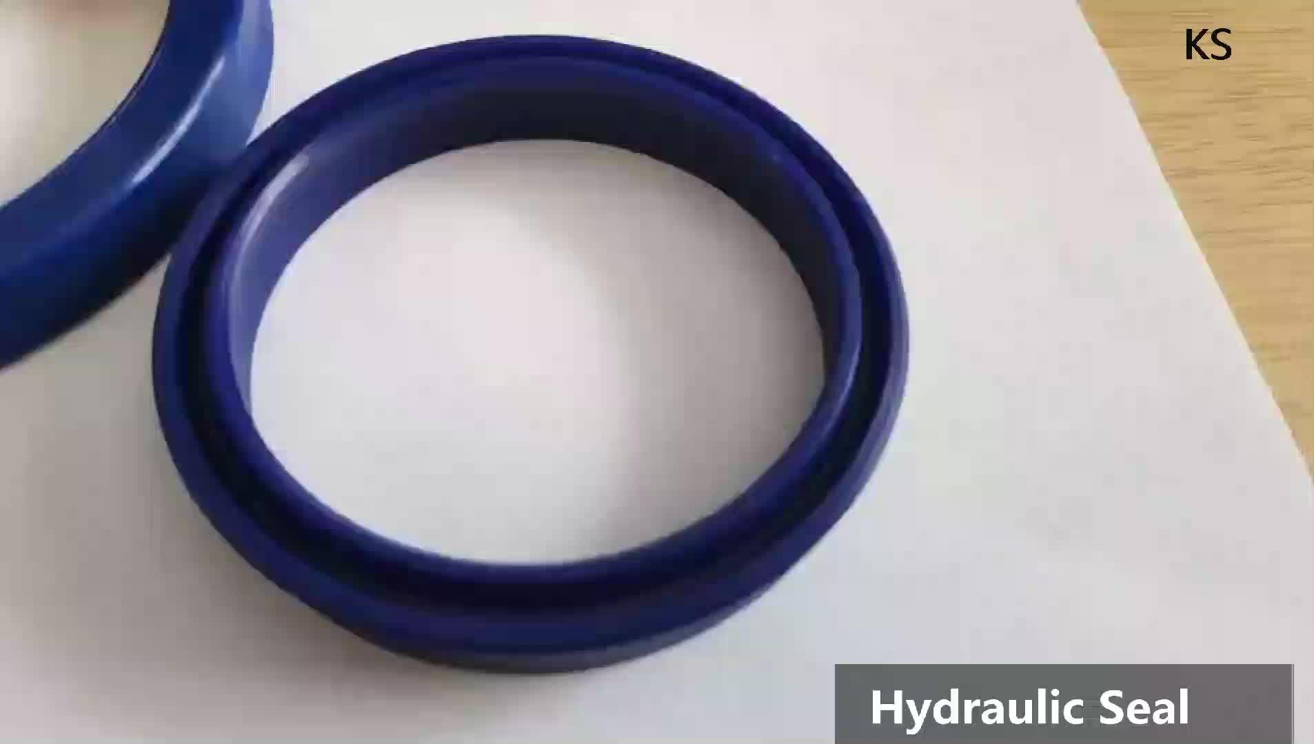 Poliuretano pistão pneumático de vedação hidráulica