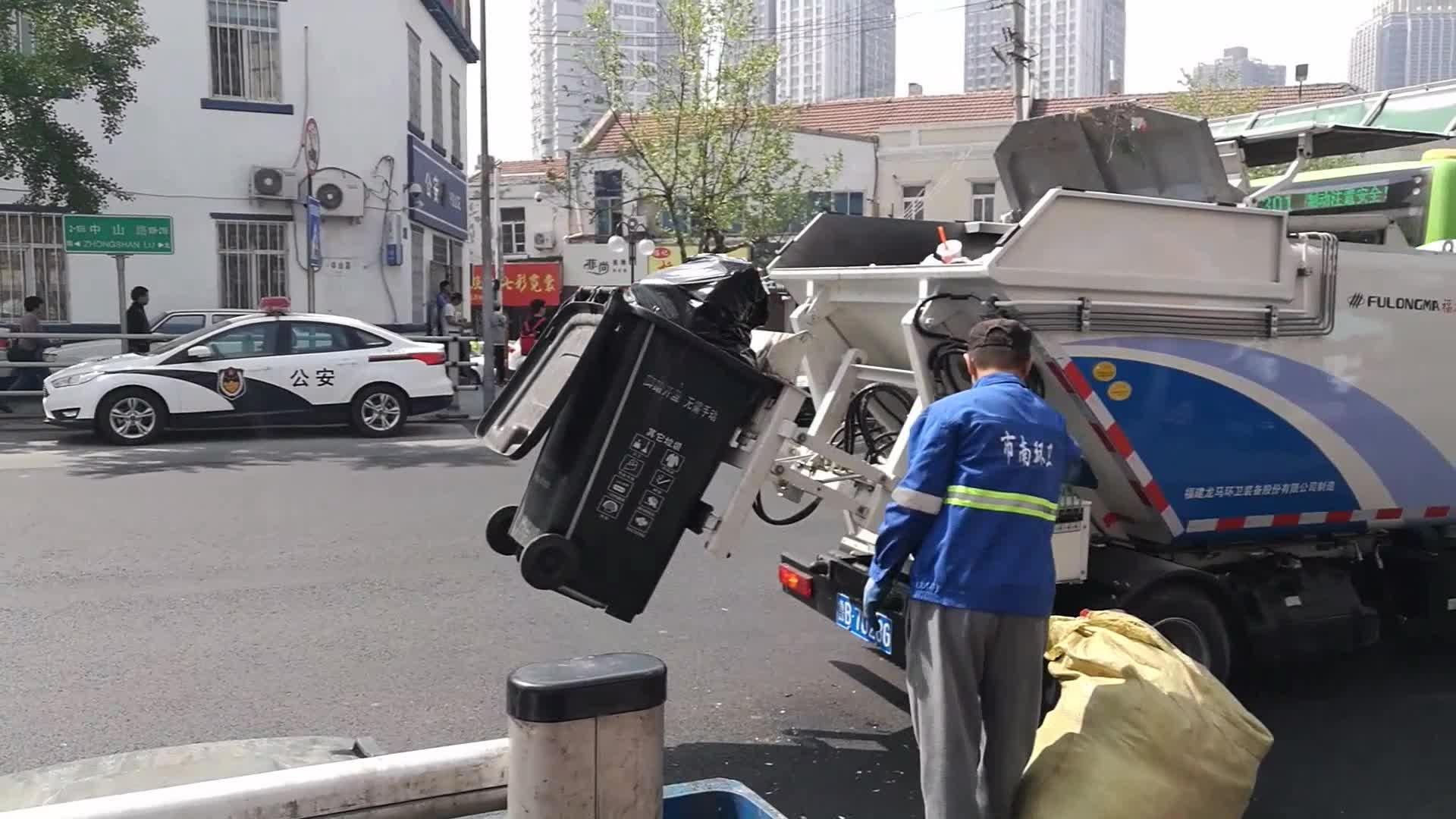 50L-1100L Staub Bin Wheelie Kunststoff-behälter Mülltonnen für Outdoor