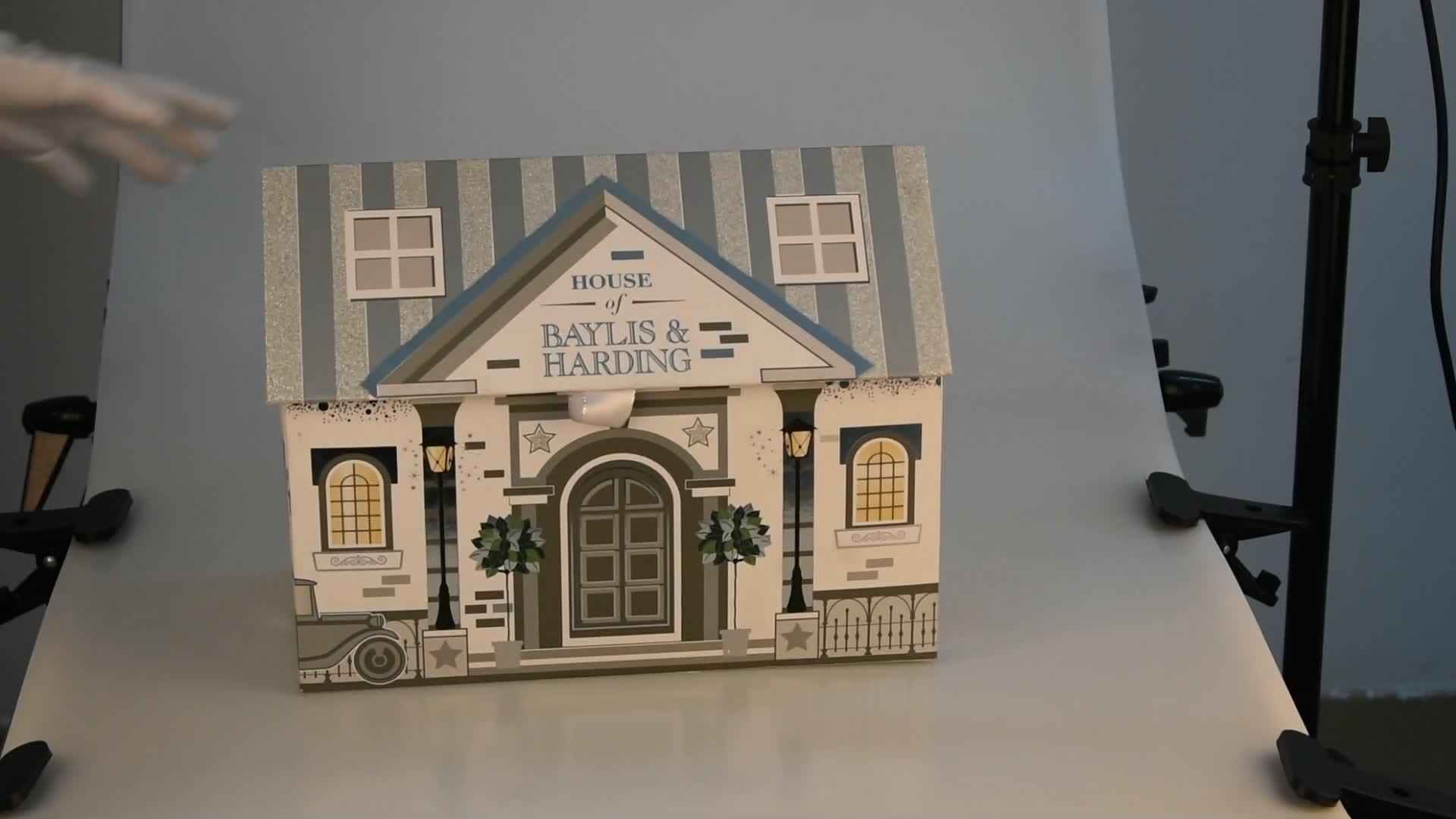 Voor Display Custom Gedrukt Verjaardagsfeestje Gift Meisje Pop Kartonnen Verpakking Met Clear Window